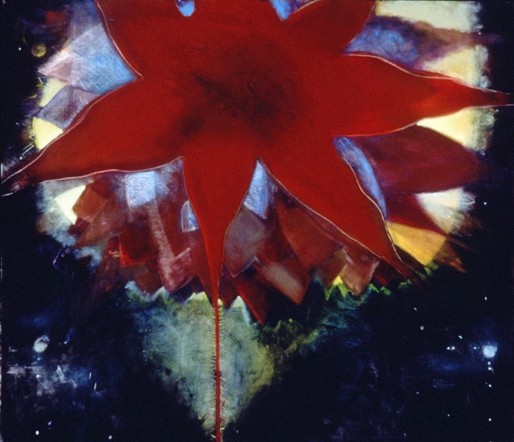 "Philadelphia Moon, 77 x 83"", oil on linen, 1999"