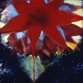 "Philadelphia Moon, 77 x 83"", oil on linen, 1999"